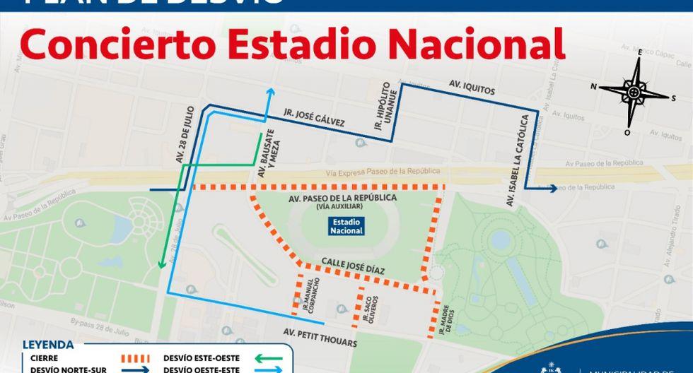 Durante las horas que dure el evento, se contará con personal de la Policía Nacional del Perú (PNP) a fin de facilitar la circulación vehicular. (Foto: MML)