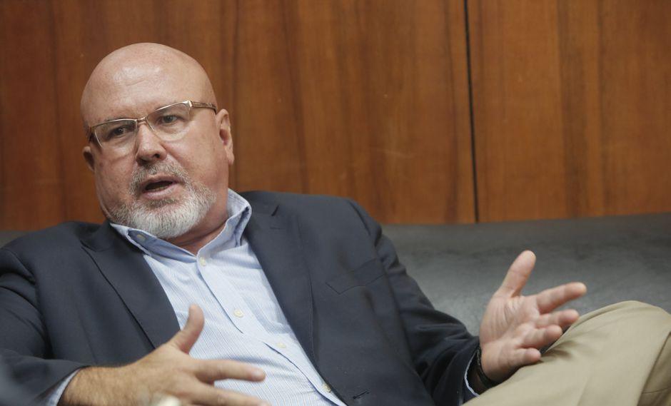 """""""La bancada en su mayoría ha tomado la decisión de apoyar al gobierno del presidente Vizcarra"""", manifestó Bruce. (GEC)"""