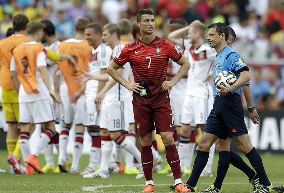 Cristiano Ronaldo fue un 'fantasma'. Nunca apareció y Portugal fue  presa fácil. (AP)