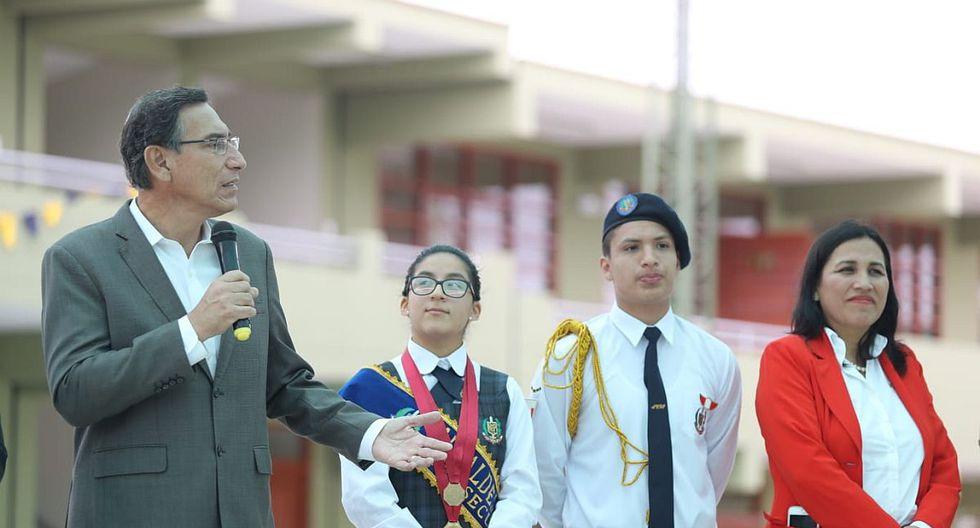 El presidente Martín Vizcarra realizó un recorrido por Tacna y Moquegua para entregar y supervisar obras. (Foto: GEC)