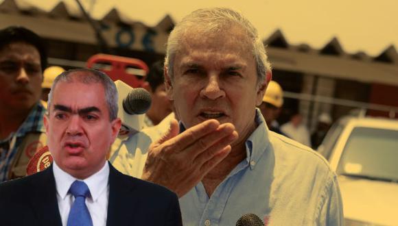 Alcaldes de Lima y San Isidro enfrentados por proyecto de bypass cruce de la Arequipa con Aramburú. (USI)