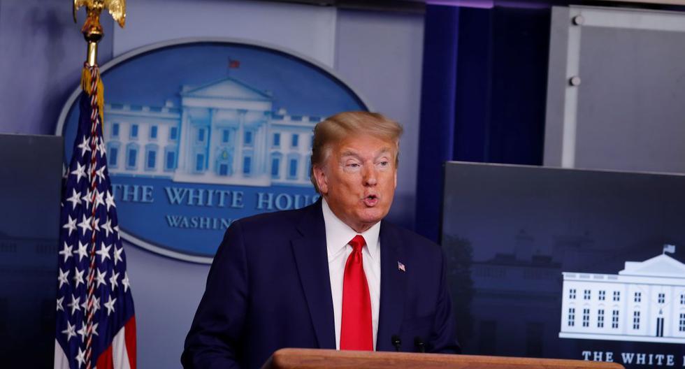 Donald Trump reiteró que su administración tiene como objetivo llenar las reservas nacionales de crudo de emergencia. (EFE/Tasos Katopodis/POOL).