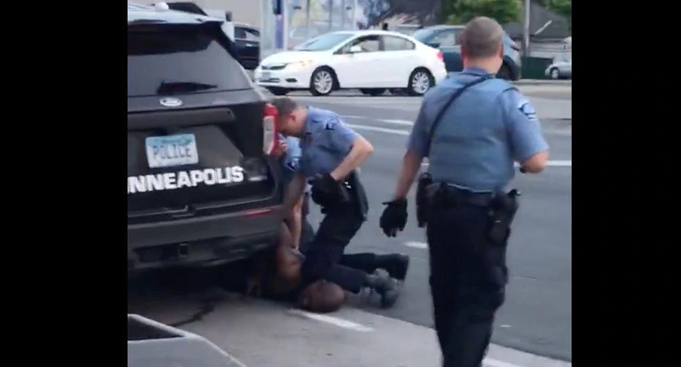 George Floyd fue asesinado en custodia policial. (Foto: AFP / Facebook/Darnella Frazier / Darnella Frazier)