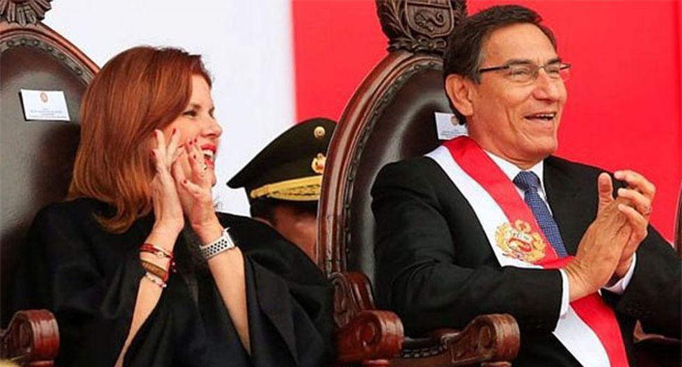 """""""Una vez que se instale el nuevo Congreso y se acepte se daría un caso atípico el de ser un presidente sin vicepresidente"""", señaló Vizcarra. (Foto: GEC)"""