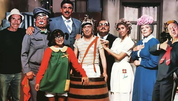 """""""El Chavo del 8"""" es una serie de televisión cómica mexicana creada y protagonizada por Roberto Gómez Bolaños. (Foto: Televisa)"""