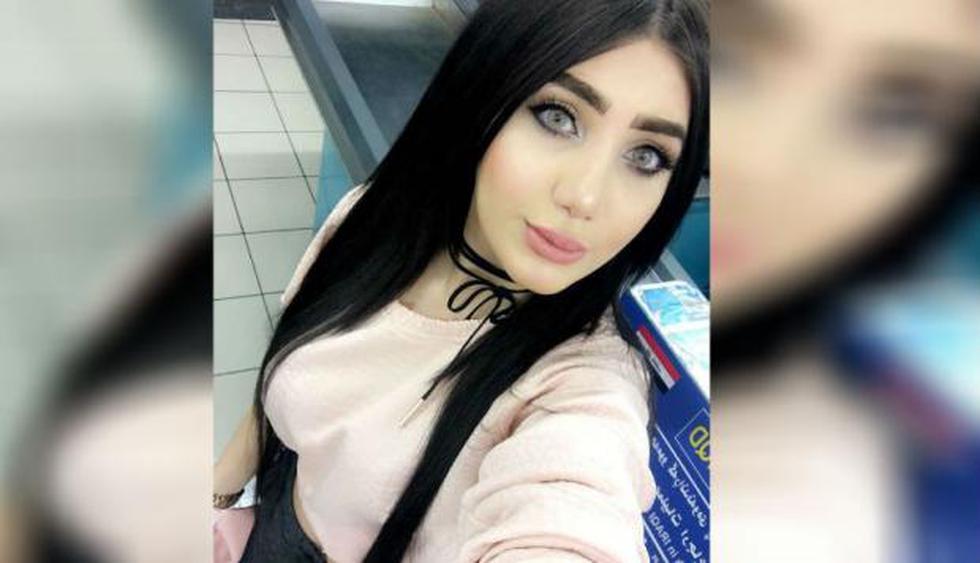 Irak: Famosa modelo es asesinada a balazos en una calle de Bagdad. (Instagram)