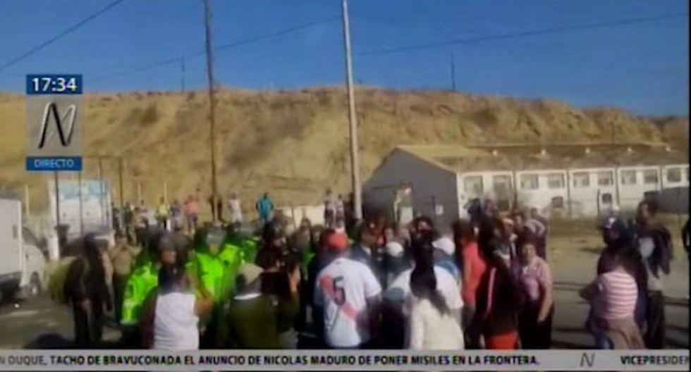 La familia insta el apoyo de las autoridades. (Foto: Captura Canal N)
