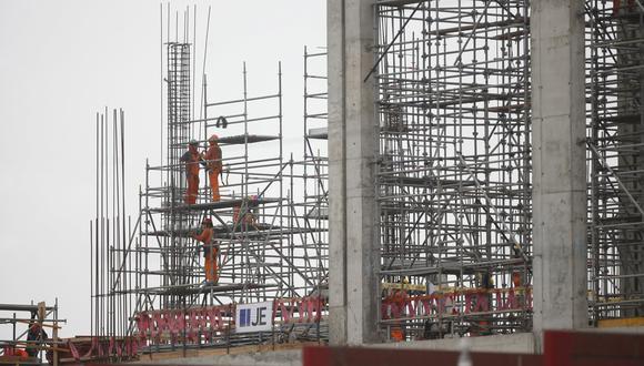 Construcción y manufactura generan lento avance del empleo formal en julio. (Foto: GEC)