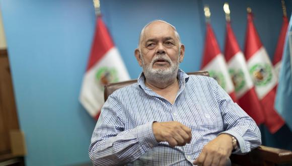 Jorge Montoya es vocero de la bancada de Renovación Popular. (@photo.gec/Renzo Salazar)