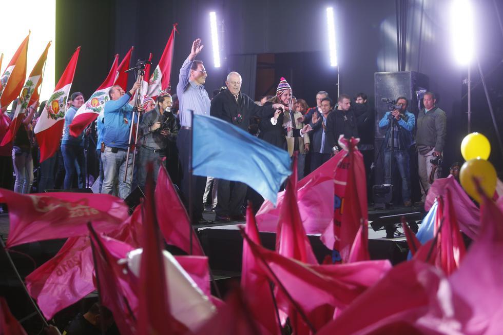 Gilbert Violeta, el presidente Martín Viscarra, el ex ministro Alfonso Grados y Pedro Pablo Kuczynski, a través de su abogado, han negado haber manejado dinero durante la campaña del 2016. (GEC)