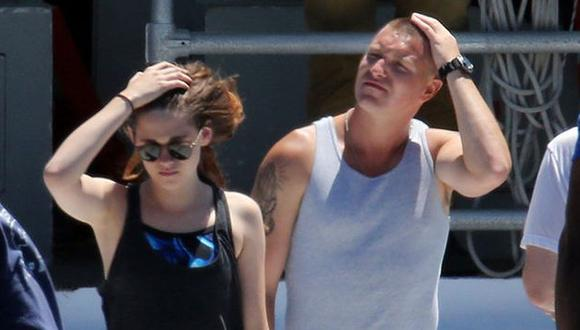 Kristen Stewart y Lane Garrison filman cinta Camp X-Ray. (Difusión)