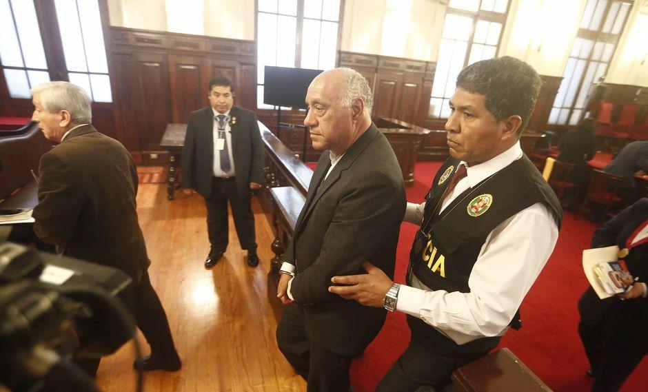El juez superior Juan Gonzales pasará nueve meses en prisión preventiva. (Foto: Mario Zapata)