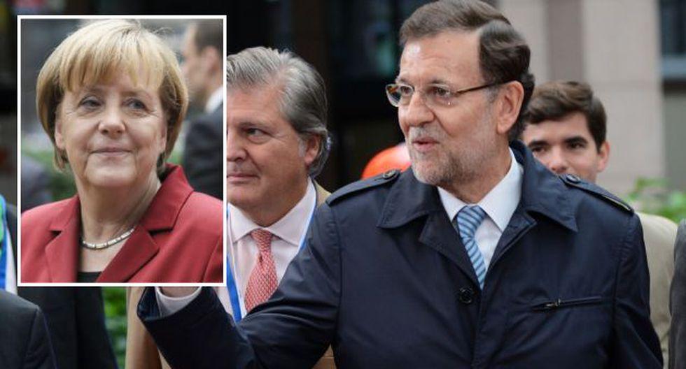 Rajoy se reunió con otros líderes de la Unión Europea en Bélgica. (AFP)