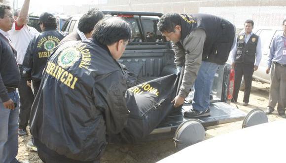 No se descarta que el robo no haya sido el único móvil del crimen. (USI/Referencial)