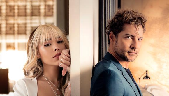 'Vuelve, vuelve' es el nuevo sencillo de Danna Paola y David Bisbal que busca celebrar el reencuentro de dos personas. (Foto: Universal Music Group)