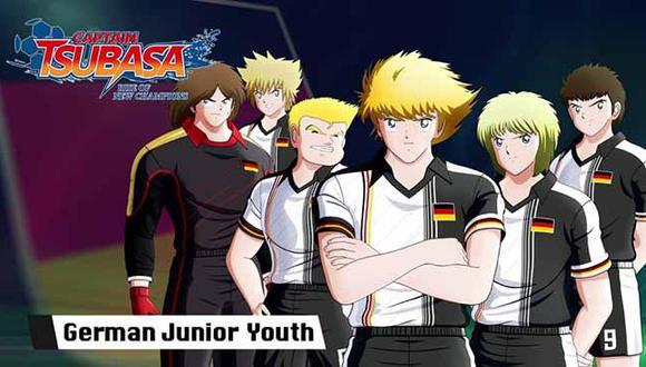 El nuevo tráiler de 'Captain Tsubasa: Rise of New Champions' nos muestra las principales estrellas del seleccionado juvenil de Alemania.