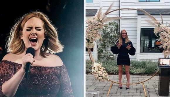 Adele: su exentrenador la defiende frente a críticas por su impactante cambio físico. (Foto: @adele)