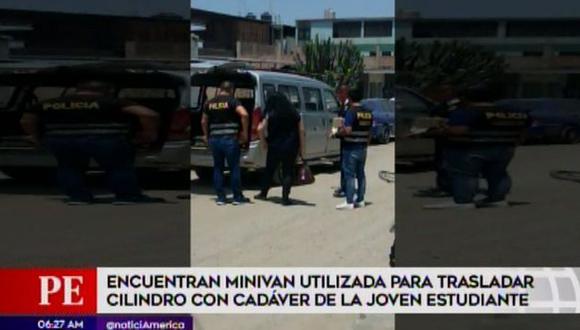 Las autoridades inspeccionaron el vehículo. (Foto: Captura/América Noticias)