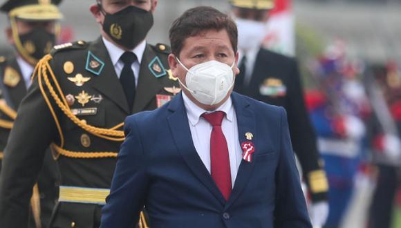 Guido Bellido juró al cargo de primer ministro el último jueves 29 de julio. (Foto: Presidencia Perú)