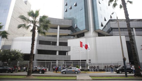 El Ministerio de Vivienda, Construcción y Saneamiento fue reconocido por su estrategia nacional de diseño urbano y acondicionamiento de espacios públicos bioseguros. (Foto: Marco Ramón / GEC)