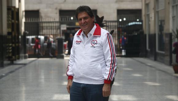 Juan Carlos Zurek (Somos Perú). (Foto: Perú 21)