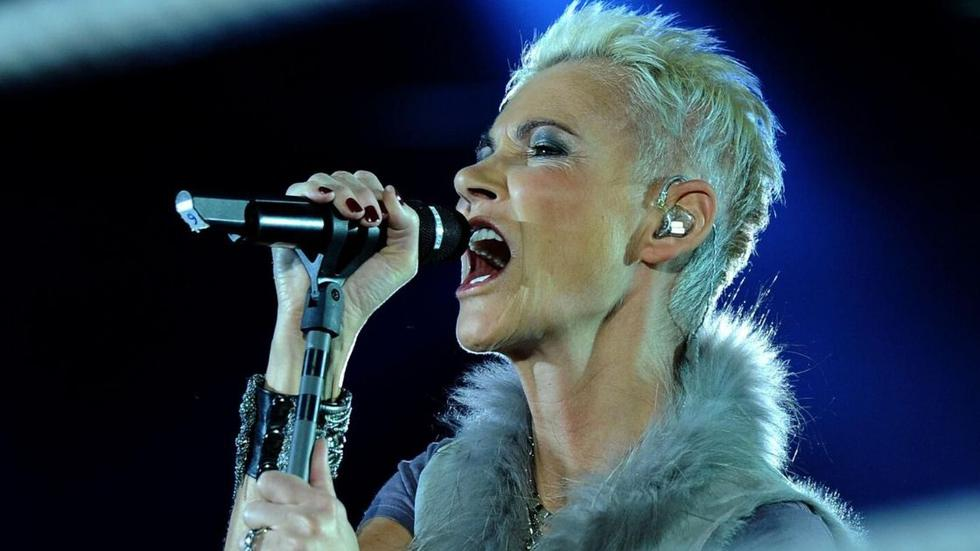 Marie Fredriksson, fue la voz femenina de Roxette. (Foto: AFP)