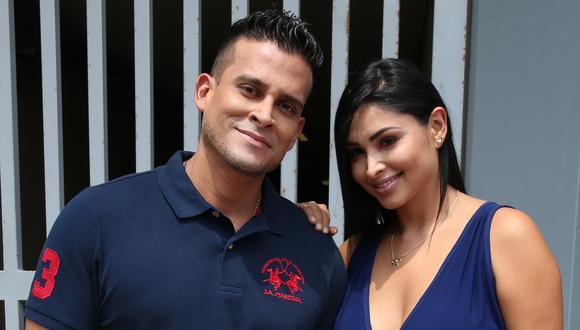 Christian Domínguez inició una relación junto a Pamela Franco hace más de un año. (Foto: GEC/Mónica Palomo)