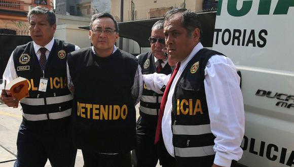 Jorge Cuba permanecerá en prisión hasta enero del próximo año, acusado de haber recibido dinero de Odebrecht. (Foto: GEC)