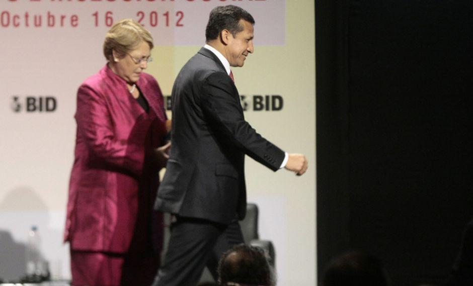 Congreso autoriza viaje de Ollanta Humala a Chile.  (David Vexelman)