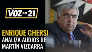 Enrique Ghersi analiza la difusión de audios sobre caso Richard Swing