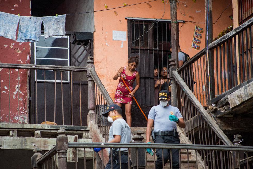 200 personas viven hacinadas y en riesgo frente al COVID-19 en viejo solar limeño (Cesar Zamalloa/GEC)