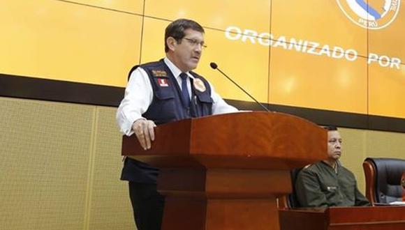 """""""Del 1 al 15 de mayo tuve el virus y posteriormente de la cuarentena volví a estar en la primera línea para proteger a nuestra nación"""", señaló Jorge Chávez. (Foto: Indeci)"""