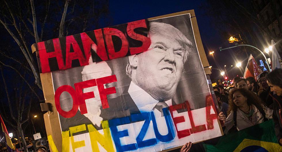 Las relaciones entre Venezuela y Estados Unidos se tornaron más tensas desde que Washington reconoció a Juan Guaidó como presidente encargado. (Getty)