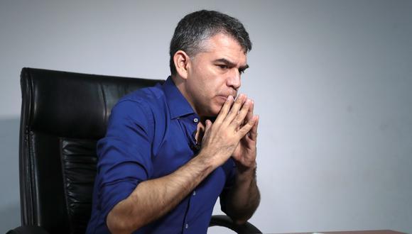 . Por segundo día consecutivo, Guzmán decide no salir ante la prensa (Hugo Pérez/GEC).