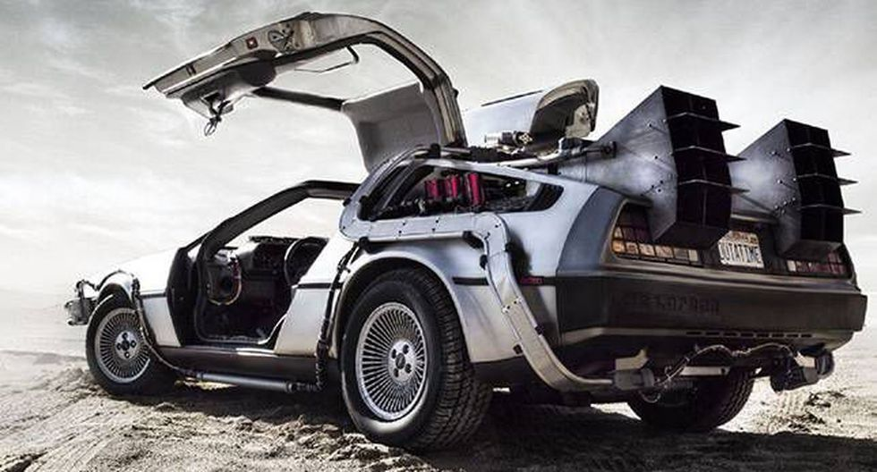 La máquina del tiempo de 'Volver al futuro': el DeLorean (Difusión).