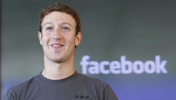 Mark Zuckerberg llegará en noviembre al Perú. (AP)