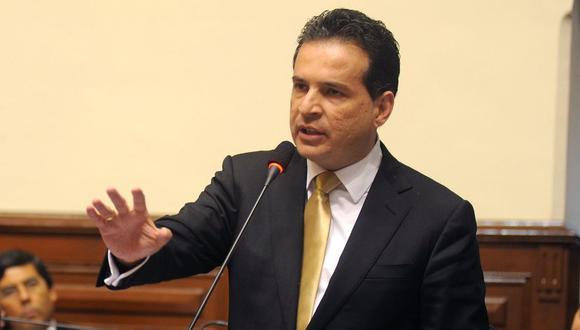 """""""Mi principal objetivo el lograr el retorno del Senado"""", sostuvo Chehade. (Foto: Congreso Perú)"""