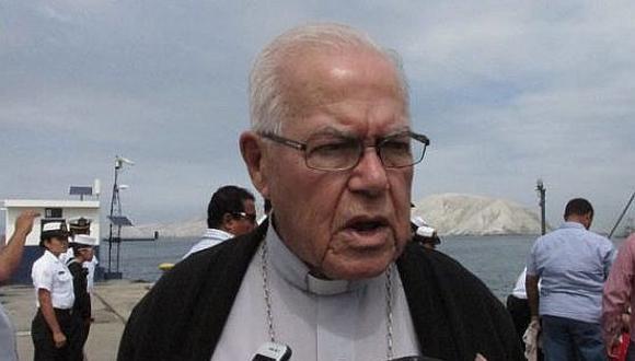 """La orden de los Jesuitas del Perú informó que monseñor Bambarén """"se encuentra con mucha paz"""" y que pide que oren por él. (Foto: El Comercio)"""