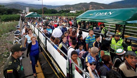 En el año 2018, unas 5.000 personas han dejado Venezuela cada día. (Foto referencial: EFE)