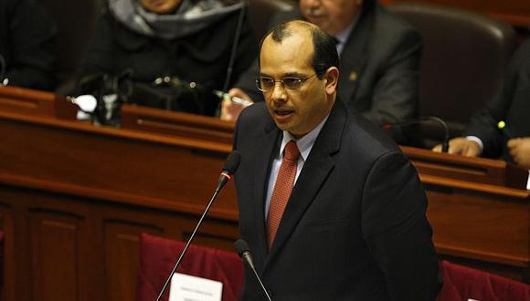 EL titular del MEF dijo esperar que el aumento del presupuesto impacte más en la población. (USI)