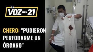 """Alonso Chero, fotógrafo de El Comercio: """"Pudieron perforarme un órgano"""""""