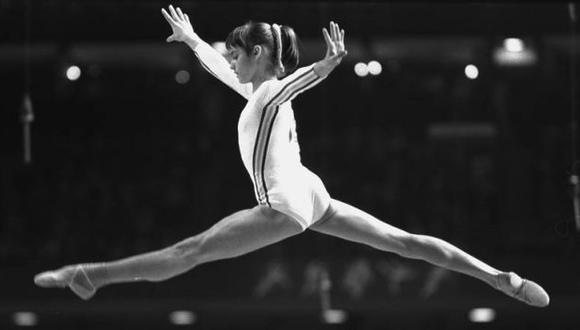 Con 14 años deslumbró en los Juegos Olímpicos de Montreal 1976. (Internet)