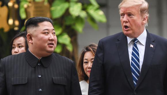 """Para el exasesor Bolton, Kim Jong-un debe """"reírse mucho"""" de la percepción que el mandatario Donald Trump tiene de su relación. (Foto: AFP)"""