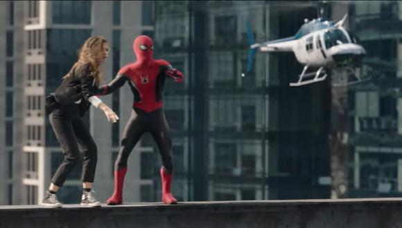 """Tráiler de """"Spider-Man: No Way Home"""" fue presentado. (Foto: Captura Sony Pictures Entertainment)."""