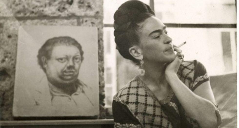 Frida nació en Coyoacán el 6 de julio de 1907 y murió el 13 de julio de 1954.