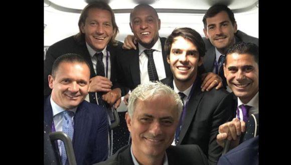 Gianni Infantino fue reelegido al frente de la FIFA hasta 2023 en el 69 Congreso de la organización, desarrollada en la capital francesa. (Instagram Roberto Carlos @oficialrc3)