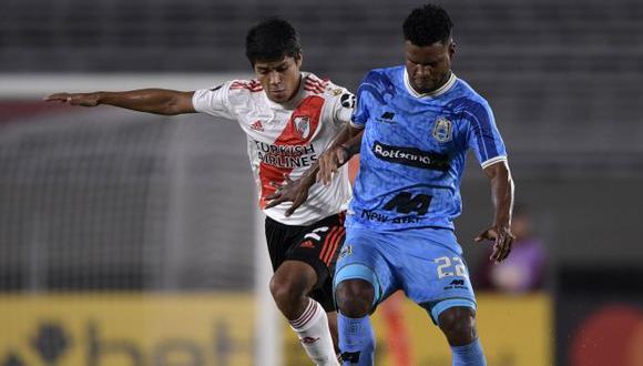 Aldair Rodríguez es jugador de Binacional desde la temporada 2018. (Foto: AFP)