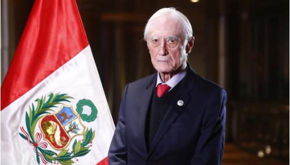 Héctor Béjar indicó que su política estará centrada en la defensa de los derechos humanos. (Imagen: Captura)