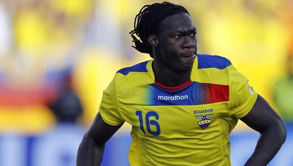 Caicedo es el máximo artillero de Ecuador en las Eliminatorias con cinco tantos. (Reuters)