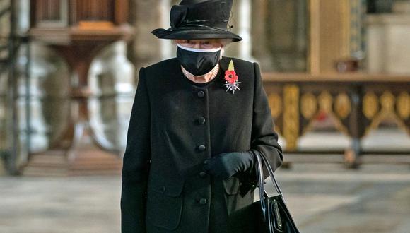 La reina Isabel II del Reino Unido presidirá el funeral de su esposo, el duque Felipe de Edimburgo. (Foto: AFP)
